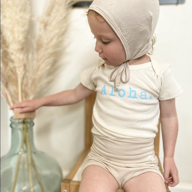 Bamboo Bloomers - Shorties - Sand 1