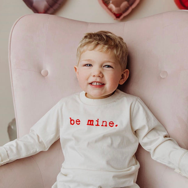 Be Mine - Organic Long Sleeve Tee