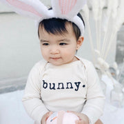 Bunny - Organic Bodysuit - Long Sleeve