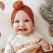 Pumpkin - Organic Bodysuit - Long Sleeve