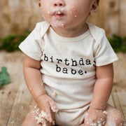 Birthday Babe - Organic Bodysuit
