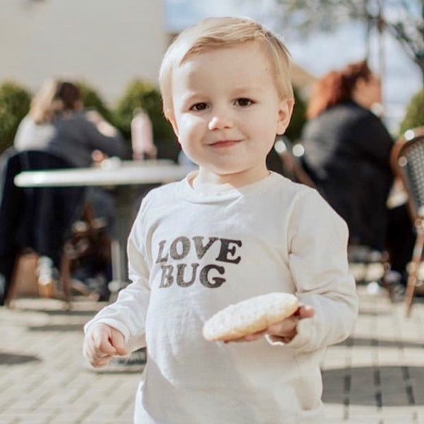 Love Bug - Organic Long Sleeve Tee