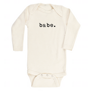 Babe - Organic Bodysuit - Long Sleeve