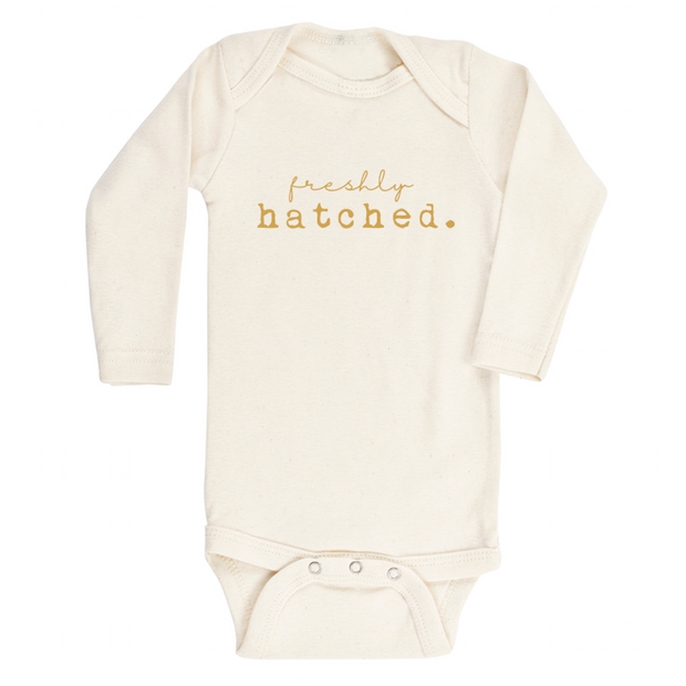 Freshly Hatched - Organic Bodysuit - Long Sleeve