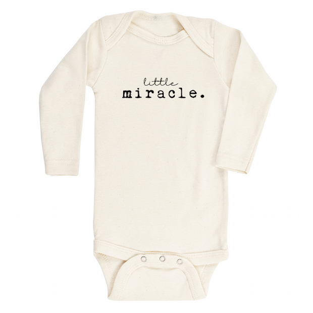 Little Miracle - Organic Bodysuit - Long Sleeve 1