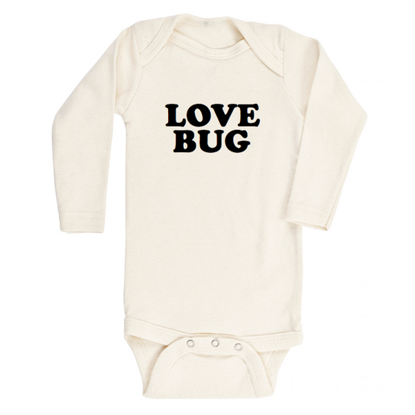 Love Bug - Organic Bodysuit - Long Sleeve