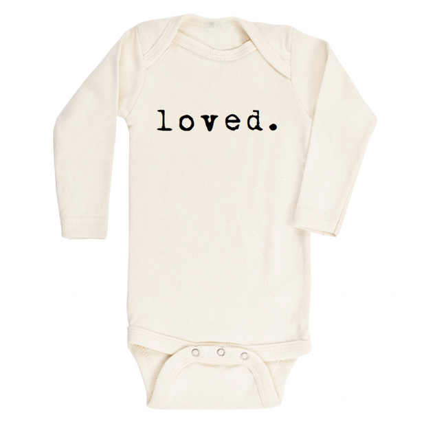 Loved. - Organic Bodysuit - Long Sleeve