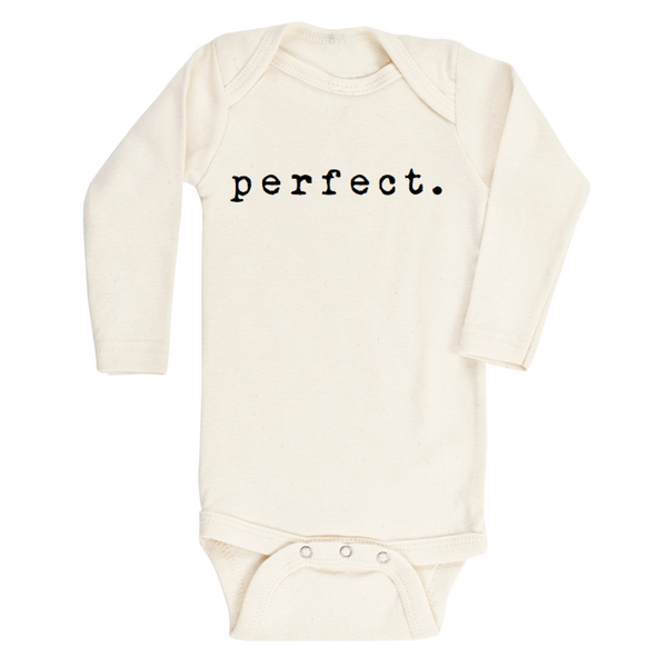 Perfect - Organic Onesie - Long Sleeve