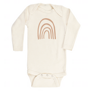 Rainbow - Organic Bodysuit - Long Sleeve