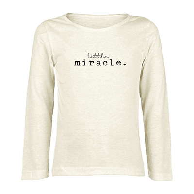Little Miracle - Organic Long Sleeve Tee