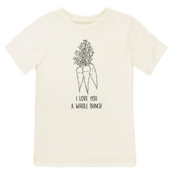 I Love You A Whole Bunch Carrots - Organic Tee