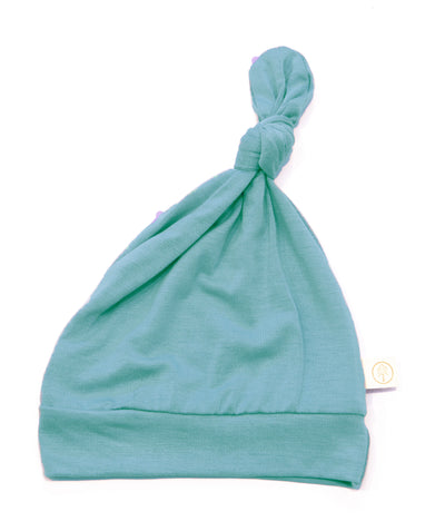 Bamboo Baby Top Knot Hat