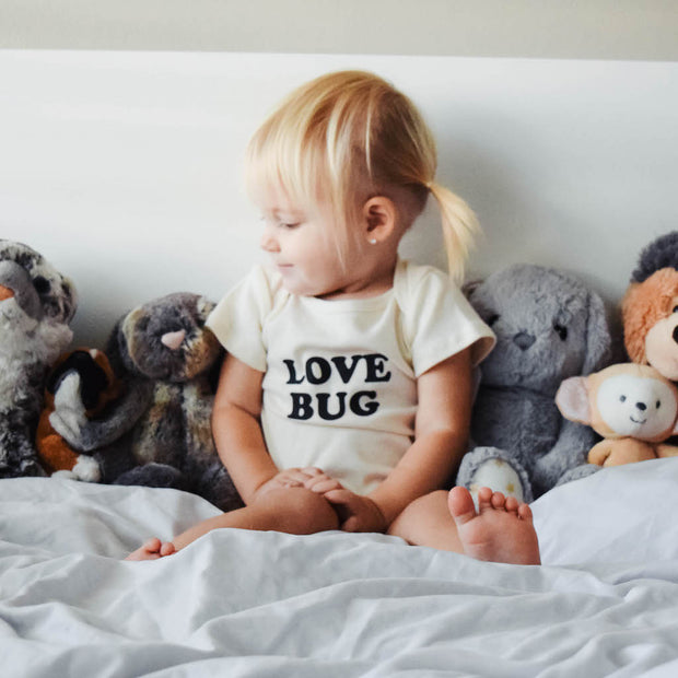 Love Bug - Organic Bodysuit