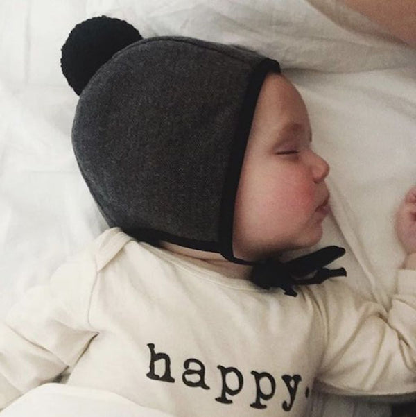 Happy - Organic Onesie - Long Sleeve