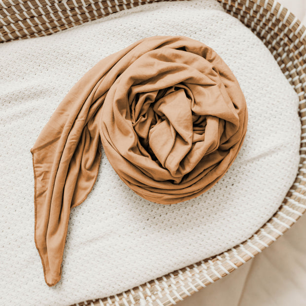 Bamboo Swaddle Blanket - Clay
