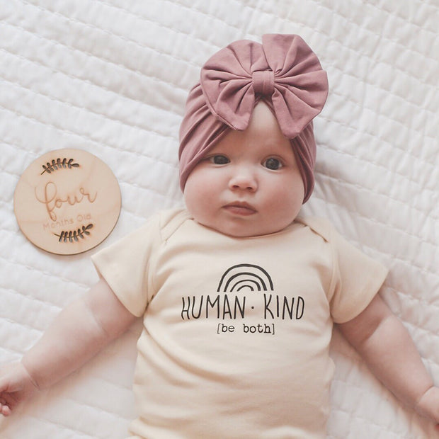 Human Kind Be Both - Organic Bodysuit