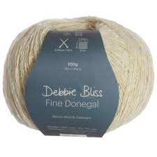 Debbie Bliss, Fine Donegal, Cashmere Wool Blend, Fingering #1