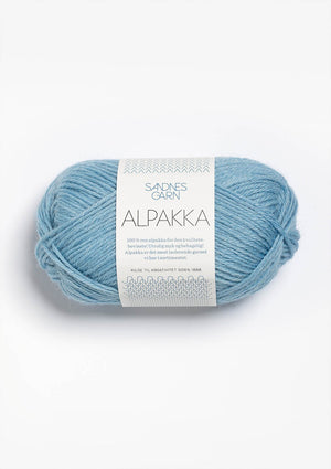 Sandnes Garn, Alpakka, 100% Pure Alpaca, DK #3 Weight (light)