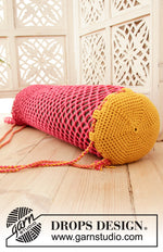 Crochet Yoga Time, Cover for Yoga Mat, by DROPS Design, Kit