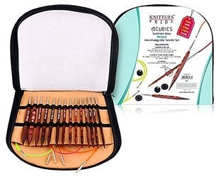 Knitter's Pride Symfonie Cubics Deluxe Normal Interchangeable Needle Set, 300601