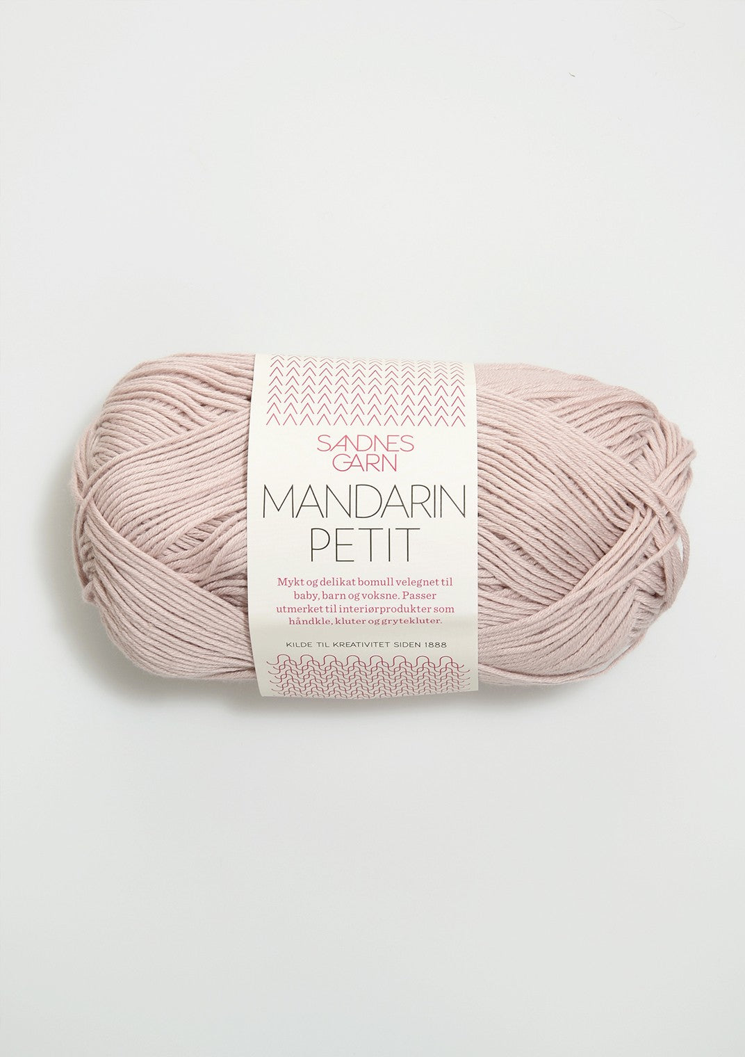 Sandnes Garn, Mandarin Petit, 100% Egyptian Cotton, Fingering #1