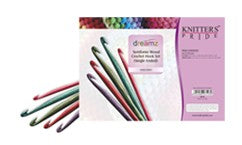 Knitter's Pride Dreamz Crochet Hooks Set (Single Ended), 600150