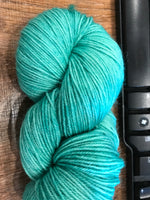 """All For Yarn"" 80% Superwash Bluefaced Leicester, 20% Nylon, #1 Fingering Weight"