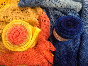 All For Yarn Sock Blanks, #0 Lace Weight