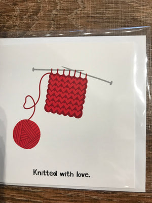 Knitting Blank Cards, by Nicholas Brancati