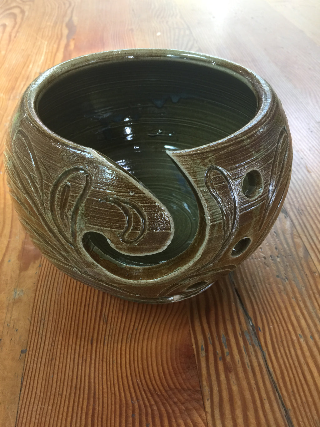 Pottery Yarn Bowls, 5 Handmade, Beautiful