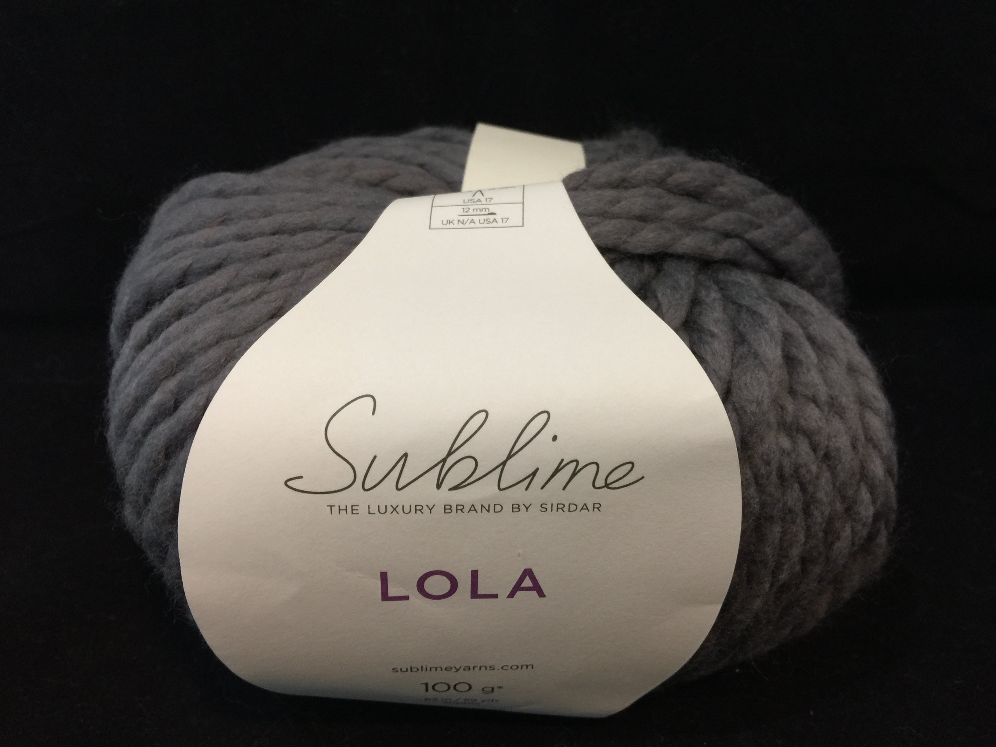 Sublime, Lola, Extrafine Merino, #6 Super Bulky Yarn