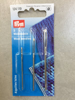 Prym, Metal Yarn Needles, 124662, package of 6