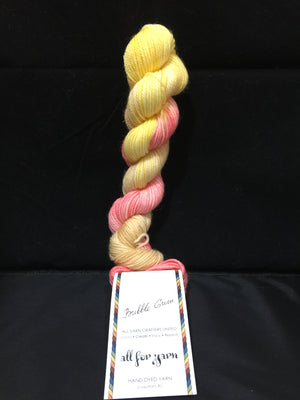 """All For Yarn"" Mini Skeins, 80% Superwash Merino, 20% Nylon, #1 Fingering Weight"