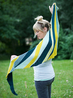 Goldfinch Shawl Kit by Andrea Mowry. $59.70