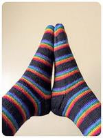 """Sock It To Me,"" Sock Class, Toe Up Using Magic Loop, 3 x 2 hour classes"