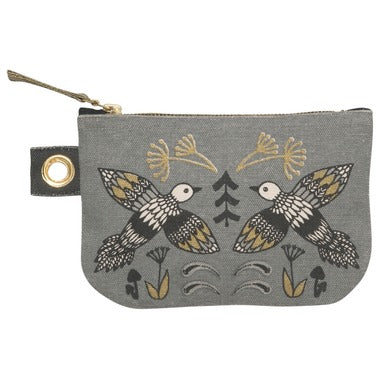 Wild Tale Small Zipper Accessory Pouch, 7001573
