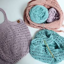 "Crochet ""Shop Til you Drop"" Market Bag Class"