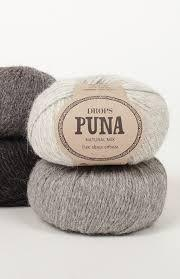 Drops Puna, 100% Superfine Alpaca, #3 DK Weight