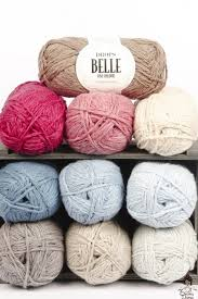 Drops Belle, Cotton, Viscose, Linen Blend, #3 DK Weight