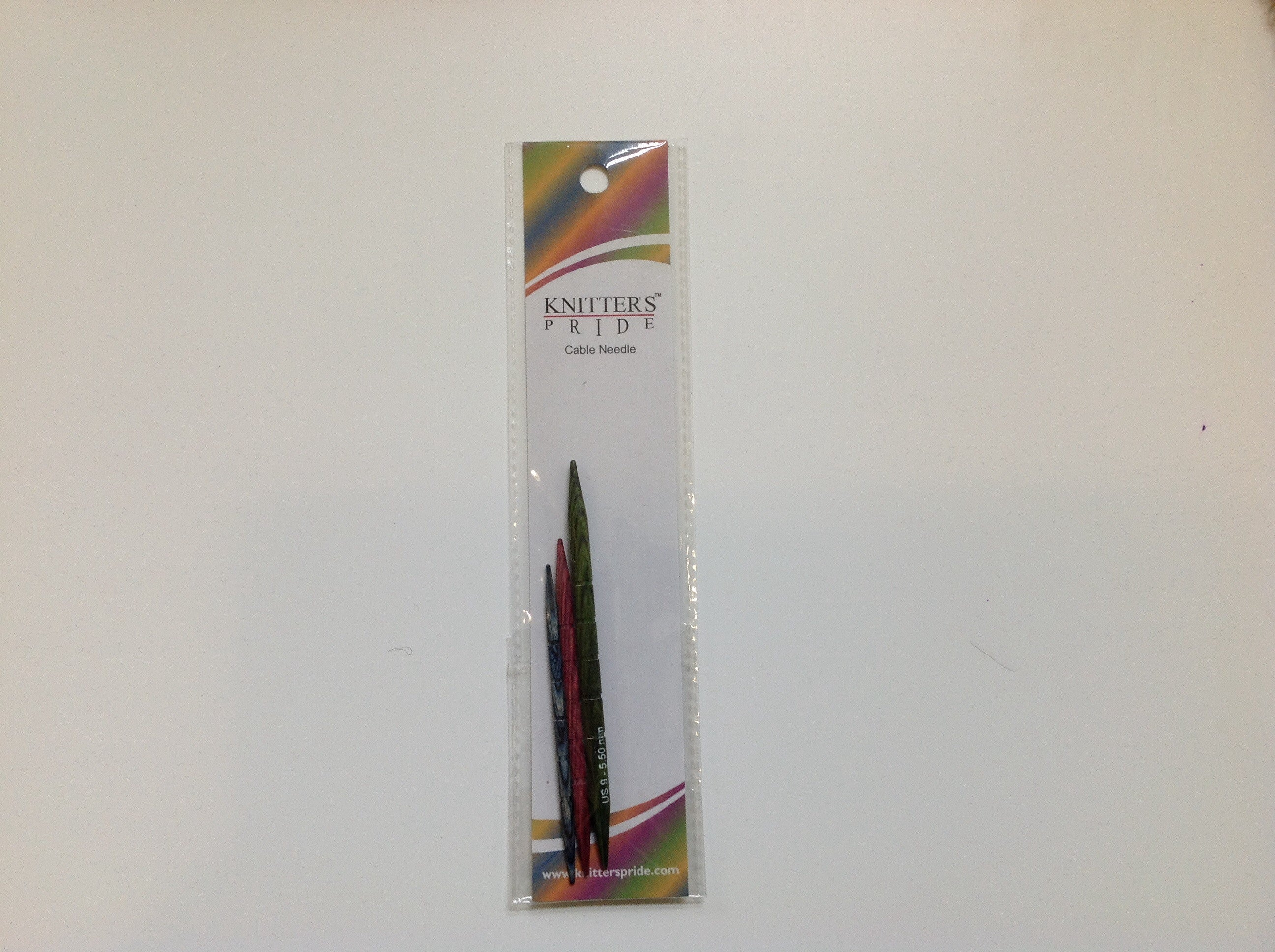Knitter's Pride, 3 Wood Cable Needles, 3.25, 4.00, 5.50mm, 800111