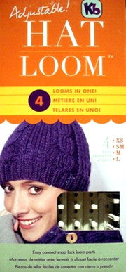 Adjustable Hat Knitting Loom, KB7400