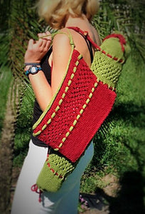 Knitted Yoga Mat Duffel and Tablet/Accessory Case, Kits
