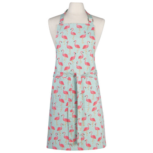 Flamingo Chef Apron, By Danica Now Designs