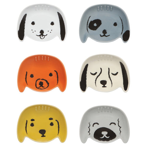 "Pinch Bowl Set of 6, ""Puppy Love"" from Danica Studios"