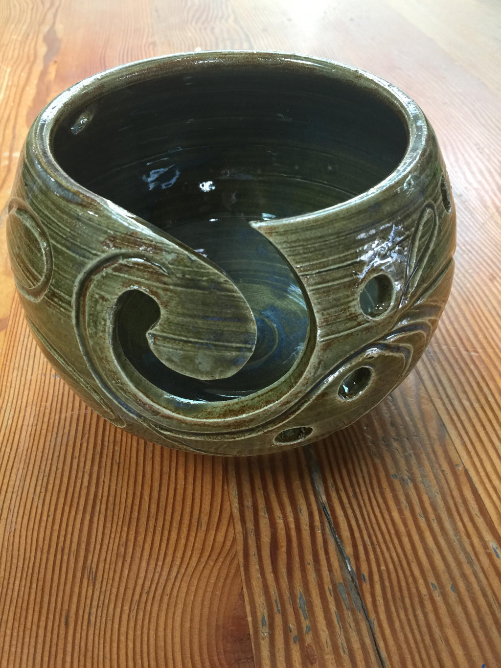 Pottery Yarn Bowls, 7 Handmade, Beautiful