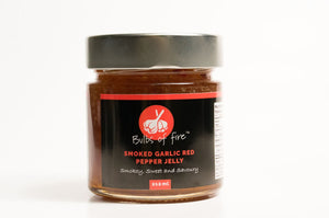 Smoked Garlic Red Pepper Jelly