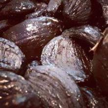 rich in appearance and flavour, black garlic cloves