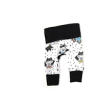 animal superhero grow with me cloth diaper leggings