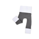 Grey Pinstripe Leggings - TODDLER