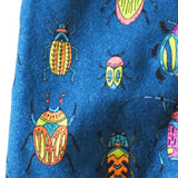 creepy crawly bug baby leggings - grow with me sizing - handmade in the USA by Bear and Bunny Co